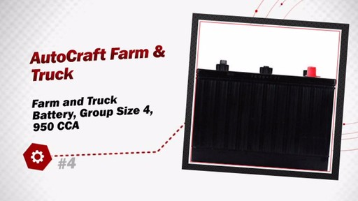 Autocraft Farm and Truck Battery, Group Size 4, 950 CCA 4 - image 3 from the video