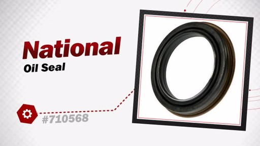 National Oil Seal 710568 - image 3 from the video