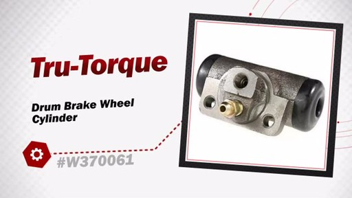 Wearever Drum Brake Wheel Cylinder W370061 - image 3 from the video
