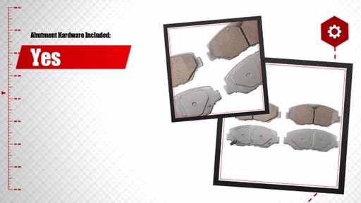 Wagner ThermoQuiet Ceramic Brake Pads - Front (4-Pad Set) QC914 - image 6 from the video