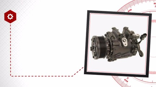 Air Conditioning Compressor with Clutch - Remanufactured - image 6 from the video