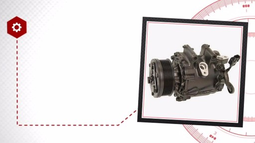 Air Conditioning Compressor with Clutch - Remanufactured - image 7 from the video