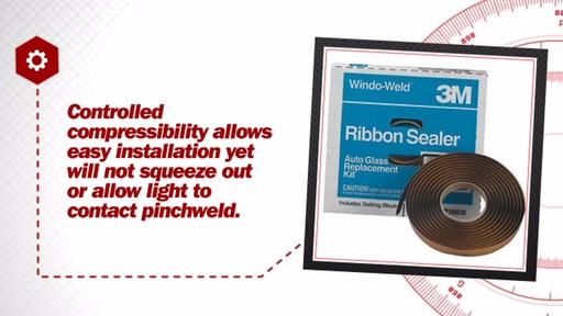 "3M Window-Weld Round Ribbon Sealer, 3/8"" x 15 ft Kit 08612 » Advance Auto Parts Video"