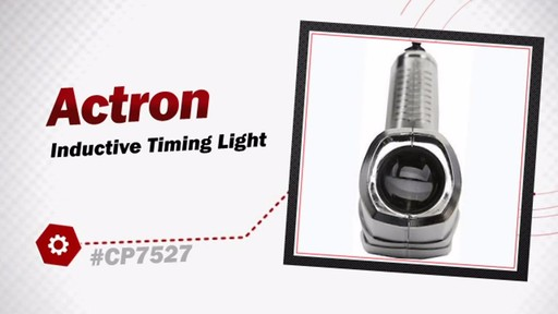 Actron Inductive Timing Light CP7527 - image 3 from the video