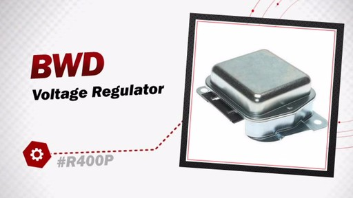 BWD Voltage Regulator R400P - image 3 from the video