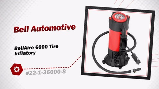 Bell Automotive BellAire 6000 Tire Inflator  22-1-36000-8 - image 3 from the video