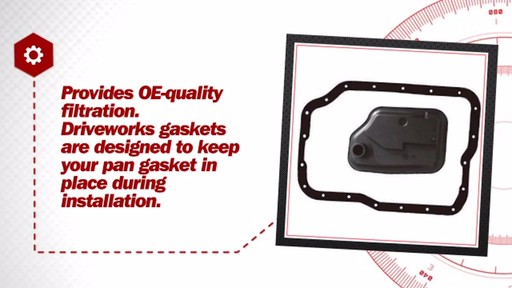 Automatic Transmission Filter Kit - image 7 from the video