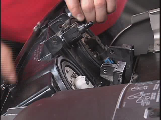 Sylvania Car Headlight Bulb Replacement Video - Advance Auto Parts 9007 - image 3 from the video
