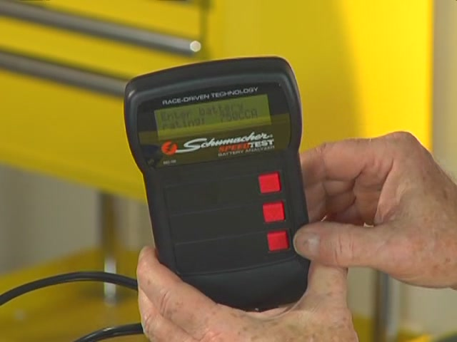 Schumacher Battery Load Tester : Battery charger video analog vs digital advance auto