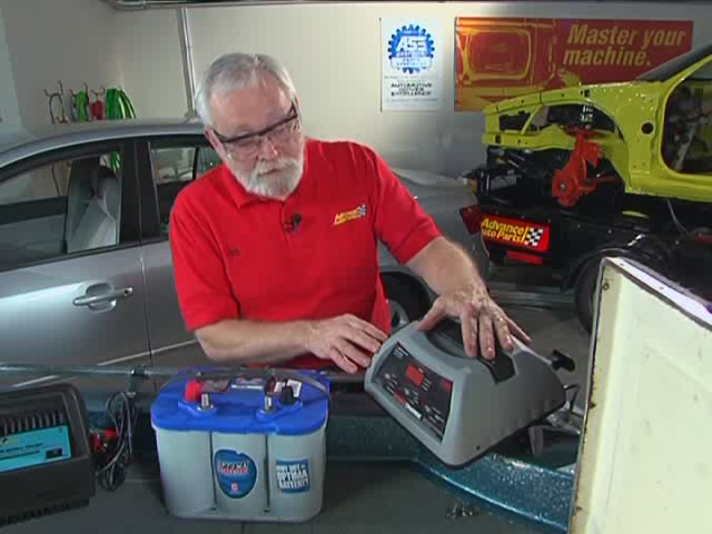 AutoCraft Gold Battery Chargers Heavy Duty - Advance Auto Parts XC-103 - image 5 from the video