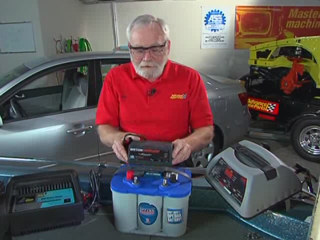 AutoCraft Gold Battery Chargers Heavy Duty - Advance Auto Parts XC-103 - image 9 from the video