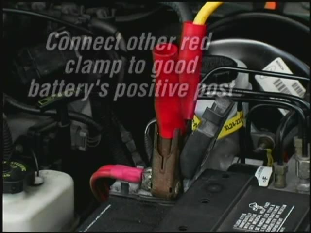 Autocraft How To Jump Start A Car Battery - Advance Auto Parts AC121/A7842041 - image 5 from the video