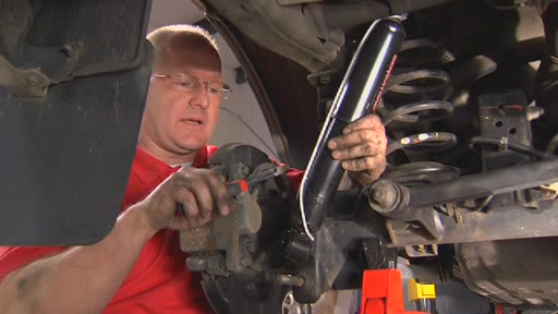 How To Replace Shock Absorbers - Advance Auto Parts - image 10 from the video
