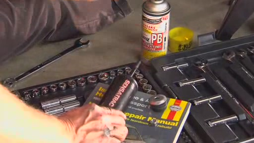 How To Replace Shock Absorbers - Advance Auto Parts - image 6 from the video