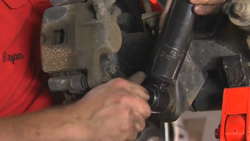 How To Replace Shock Absorbers - Advance Auto Parts - image 7 from the video