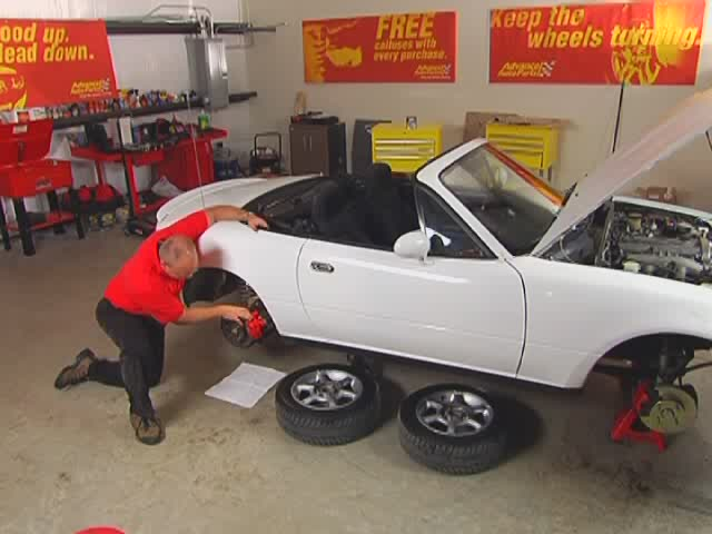 Autocraft Changing Disc Brakes - Advance Auto Parts AC31/CX121 - image 10 from the video