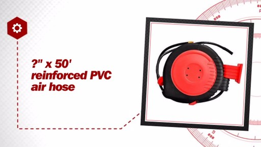 autocraft  retractable air hose reel ac advance auto parts video