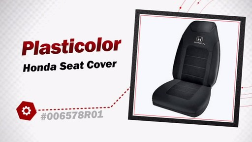 Plasticolor Honda Seat Cover 006578R01 - image 3 from the video