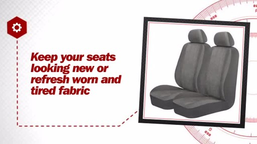 AutoCraft Seat Cover AC370047G - image 6 from the video