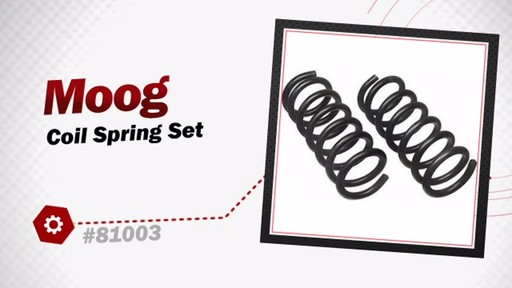 Moog Coil Spring Set 81003 - image 3 from the video