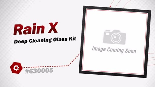 Rain X Deep Cleaning Glass Kit 630005 - image 3 from the video