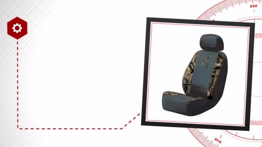 Browning Brand Low Back Seat Cover - Camo BSC7001 - image 7 from the video