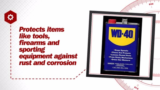 WD-40 Multi-Purpose Lubricant Gallon Liquid 100101001 - image 7 from the video