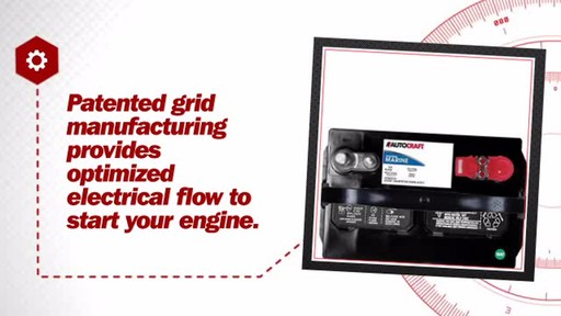 Autocraft Marine RV 12-Volt Starting Battery, Group Size 24M, 500 CCA M24-1 - image 6 from the video