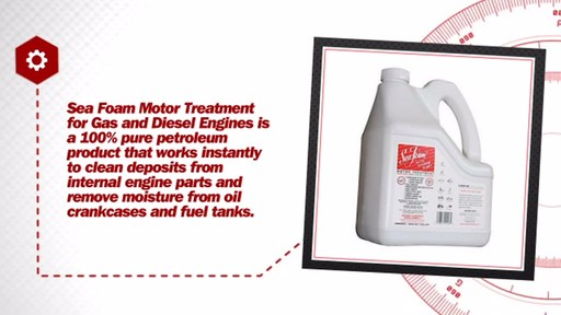 Sea Foam Motor Treatment for Gas and Diesel Engines (128 fl. oz.) SF-128 - image 6 from the video