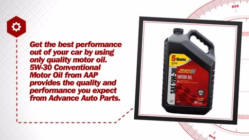 Advance Auto Parts 5W-30 Conventional Motor Oil (5 Plus Quarts Jug) A25 - image 7 from the video