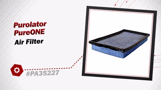 Purolator PureONE Air Filter PA35227 - image 3 from the video