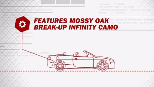 Mossy Oak Universal Bucket Seat Cover MSC4409 - image 4 from the video