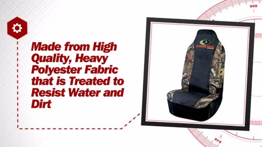 Mossy Oak Universal Bucket Seat Cover MSC4409 - image 7 from the video
