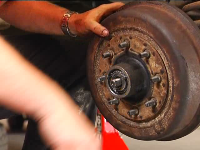 Wagner Changing Drum Brakes Video - Advance Auto Parts PAB724 - image 10 from the video