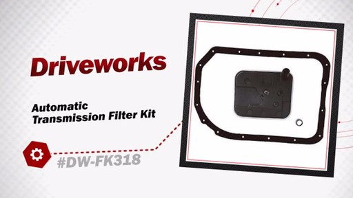 Automatic Transmission Filter Kit - image 3 from the video