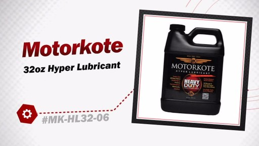 Motorkote 32oz Hyper Lubricant MK-HL32-06 - image 3 from the video