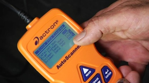 Actron Scanning in real time CP9575 - image 8 from the video