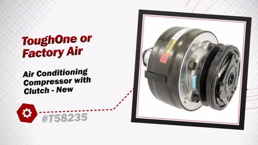 Air Conditioning Compressor with Clutch - New - image 3 from the video