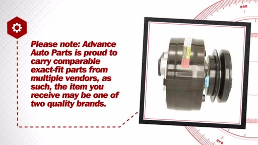 Air Conditioning Compressor with Clutch - New - image 7 from the video