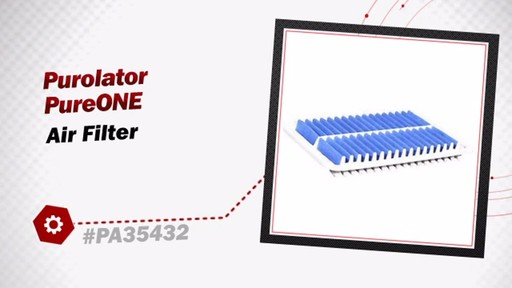 Purolator PureONE Air Filter PA35432 - image 3 from the video