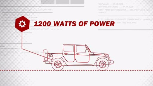 Peak 1200 Watt Mobile Power Outlet Kit PKC0CF - image 4 from the video