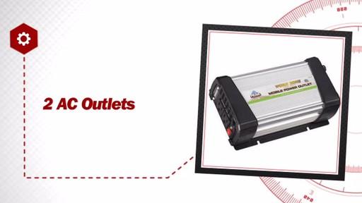 Peak 1200 Watt Mobile Power Outlet Kit PKC0CF - image 7 from the video
