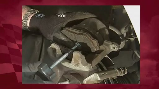 Changing Disc Brakes Step 6-Reusing the Caliper and Compressing the Piston - image 5 from the video