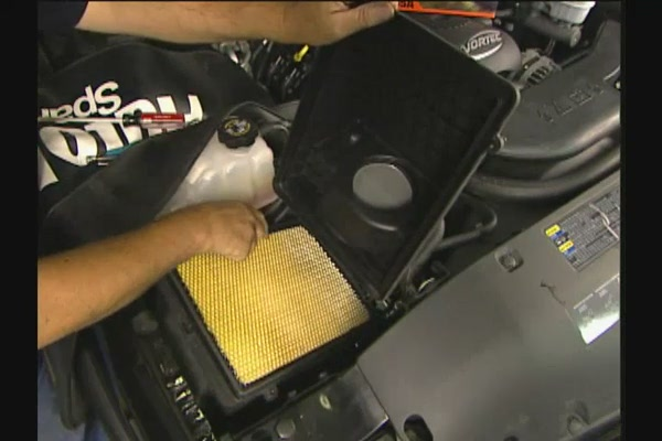 FRAM Installing Air Filters - FRAM and Advance Auto Parts CA6541 - image 8 from the video