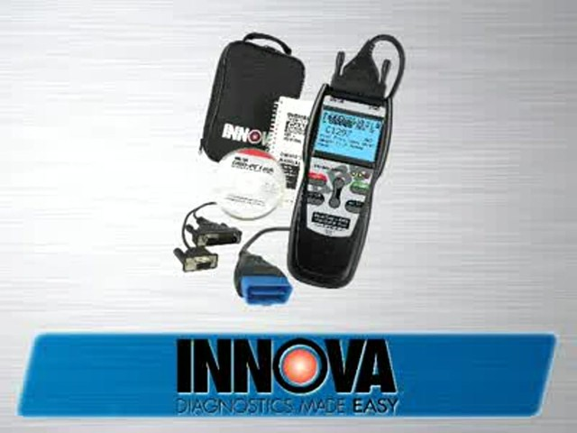 Innova 3160 OBD II CAN ABS SRS Live Data Diagnostic Scan Tool 3160 - image 10 from the video