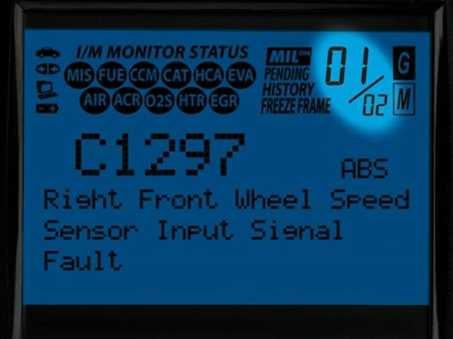 Innova 3160 OBD II CAN ABS SRS Live Data Diagnostic Scan Tool 3160 - image 3 from the video