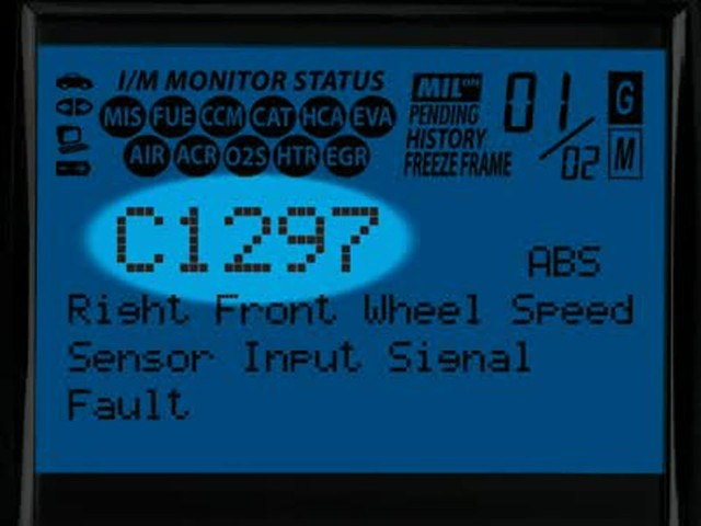 Innova 3160 OBD II CAN ABS SRS Live Data Diagnostic Scan Tool 3160 - image 4 from the video
