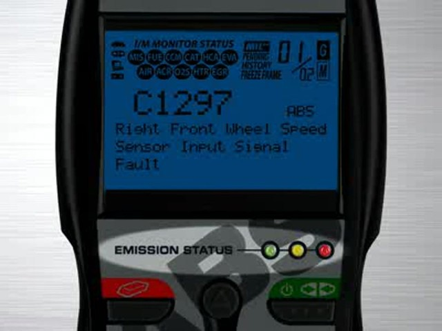 Innova 3160 OBD II CAN ABS SRS Live Data Diagnostic Scan Tool 3160 - image 5 from the video
