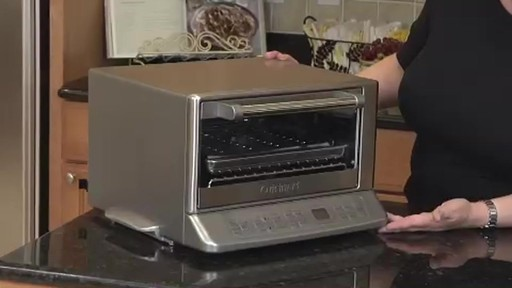 Cuisinart Tob 195 Brushed Chrome Convection Toaster Oven