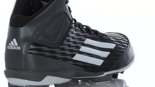 2bfe83eadee6 adidas Youth PowerAlley 3 TPU Mid Molded Cleats - image 4 from the video